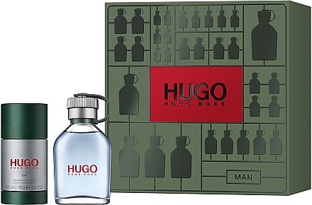 Hugo Boss Hugo Men - Set (edt/75ml + deo/75ml) — Imagine N1