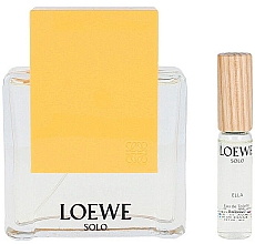 Parfumuri și produse cosmetice Loewe Solo Loewe Ella - Set (edt/100ml + edt/7.5ml)