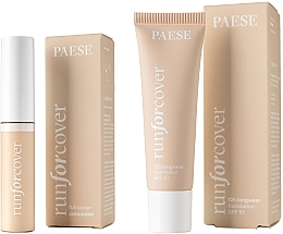 Parfumuri și produse cosmetice Set - Paese (fond/30 ml + concealer/9ml)