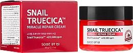 Parfumuri și produse cosmetice Cremă revitalizantă cu mucină de melc și ceramide - Some By Mi Snail Truecica Miracle Repair Cream