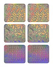 Parfumuri și produse cosmetice Nail Art Stickers, 3704 - Neess Patternness