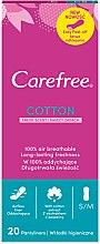 Parfumuri și produse cosmetice Absorbante pentru uz zilnic, 20 buc. - Carefree Cotton Fresh Scent