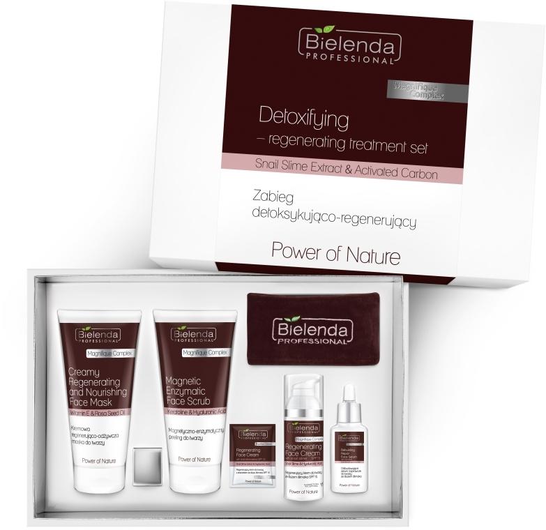 Set - Bielenda Professional Power Of Nature (mask/150ml+scrub/150g+ cr/50ml+serum/30ml) — Imagine N1