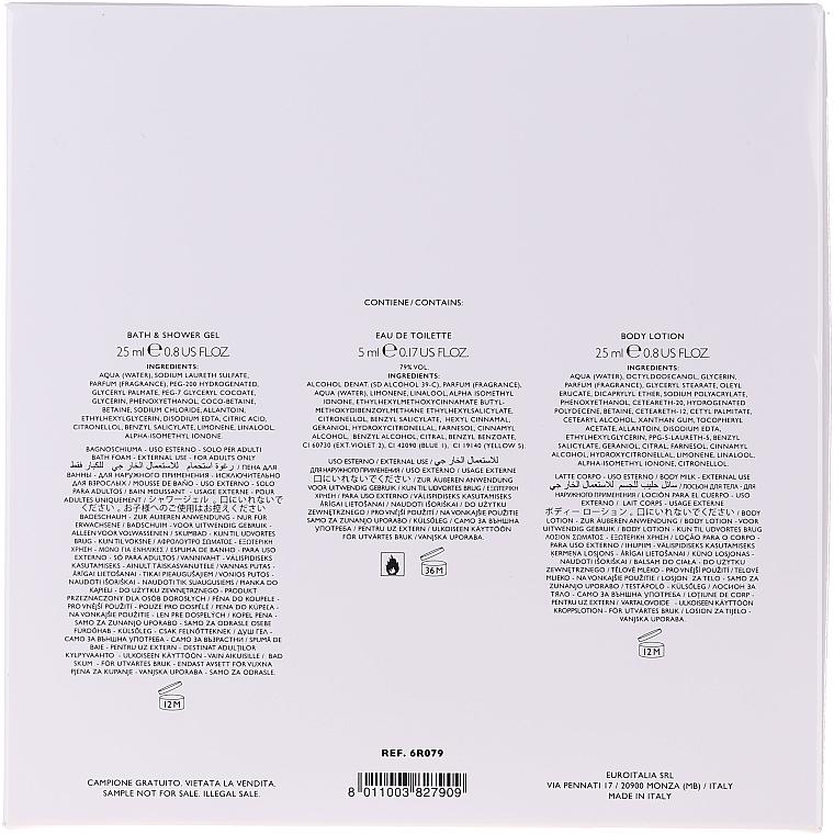 Moschino Fresh Couture - Set (edt/5ml + sh/gel/25ml + b/lot/25ml) — Imagine N5