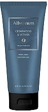 Parfumuri și produse cosmetice Allvernum Cedarwood & Vetiver - Gel parfumat de duș