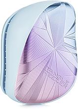 Parfumuri și produse cosmetice Perie de păr - Tangle Teezer Compact Styler Smashed Holo Blue