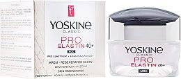Parfumuri și produse cosmetice Ночной крем для нормальной и комбинированной кожи - Yoskine Classic Pro-Elastin Face Cream 40+