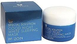 Parfumuri și produse cosmetice Mască de noapte pentru față - Mizon Good Night White Sleeping Mask