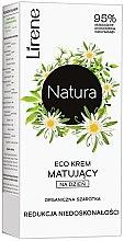 Parfumuri și produse cosmetice Cremă eco matifiantă pentru față - Lirene Natura Eco Cream