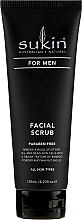 Parfumuri și produse cosmetice Scrub pentru față - Sukin For Men Facial Scrub