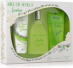 Parfumuri și produse cosmetice Instituto Espanol Aire de Sevilla Azahar - Set (edt/150ml + b/cr/150ml + sh/gel/150ml)