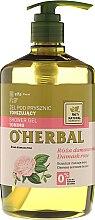 Parfumuri și produse cosmetice Тонизирующий гель для душа с экстрактом дамасской розы - O'Herbal Toning Shower Gel