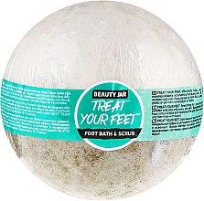 Parfumuri și produse cosmetice Bombă-scrub pentru picioare - Beauty Jar Treat Your Feet Foot Bath&Scrub