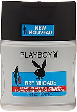 Parfumuri și produse cosmetice Balsam după ras - Playboy Fire Brigade After Shave Balm