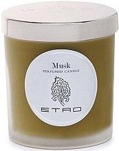 Parfumuri și produse cosmetice Lumânare aromată - Etro Musk Candle