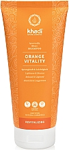 "Parfumuri și produse cosmetice Șampon ""Nussgras"" - Khadi Shampoo Orange Vitality"