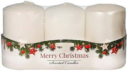 "Set lumânări aromate - Artman ""Merry Christmas"" (candle/3 x 22g) — Imagine N1"