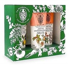 Parfumuri și produse cosmetice Set - La Florentina Lavender (cr/75ml +cr/75ml + cr/75ml)