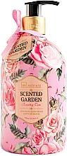 Parfumuri și produse cosmetice Săpun lichid pentru mâini - IDC Institute Scented Garden Hand Wash Country Rose