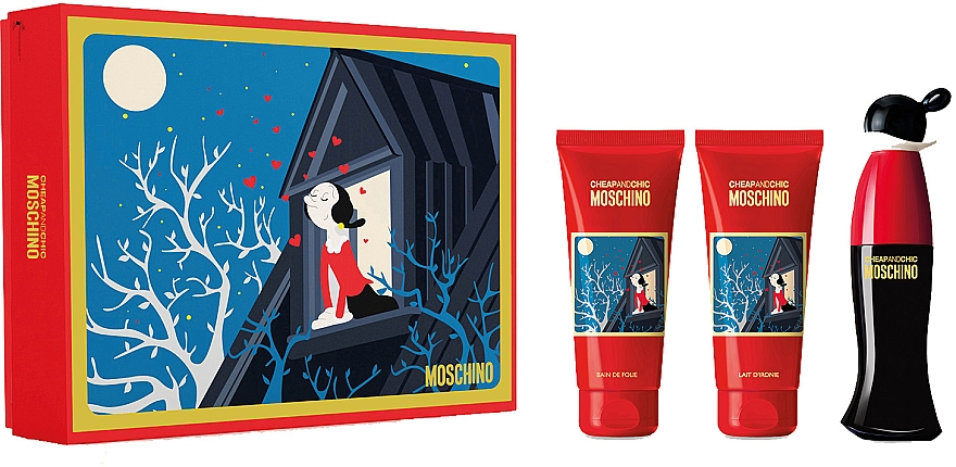 Moschino Cheap and Chic - Set (edt/50ml + sh/gel/100ml + b/lot/100ml)