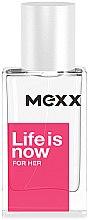 Parfumuri și produse cosmetice Mexx Life is Now for Her - Apă de toaletă