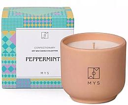 """Parfumuri și produse cosmetice Lumânare din soia """"Mentă"""" - Mys Peppermints Candle"""