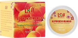"Parfumuri și produse cosmetice Balsam de buze ""Mango"" - Lass Naturals Alphonso Mango Lip Balm"