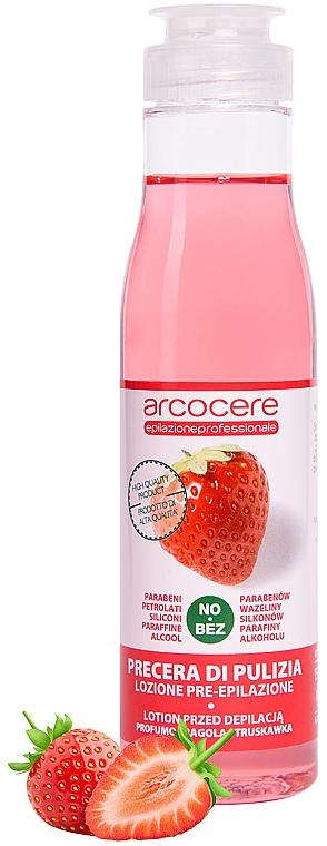 Loțiune anestezică înainte de epilare, aromă de căpșuni - Arcocere