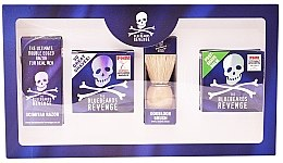 Parfumuri și produse cosmetice Set - The Bluebeards Revenge (balm/100ml+cr/100ml+shaving brush+shaver)