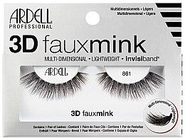 Parfumuri și produse cosmetice Gene false - Ardell 3D Faux Mink 861