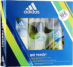 Parfumuri și produse cosmetice Adidas Get Ready for Him - Set (edt/50ml + deo/150ml + s/g/250ml)