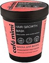 Parfumuri și produse cosmetice Mască pentru stimularea creșterii părului - Cafe Mimi Mask