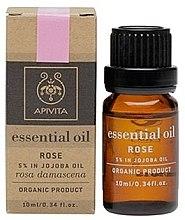 """Parfumuri și produse cosmetice Ulei esențial """"Trandafir"""" - Apivita Aromatherapy Organic Rose Oil"""