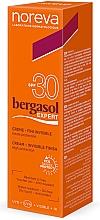 Parfumuri și produse cosmetice Cremă cu protecție solară - Noreva Laboratoires Bergasol Expert Invisible Finish Cream SPF 30+