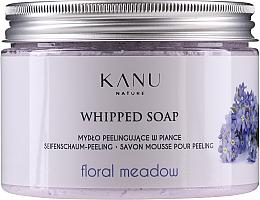 Parfumuri și produse cosmetice Mydło peelingujące w piance Kwiatowa łąka - Kanu Nature Floral Meadow Peeling Soap