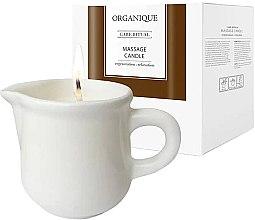 """Parfumuri și produse cosmetice Lumânare pentru masaj SPA """"Ceramica albă"""" Guarana - Organique Spa Massage Candle Guarana"""