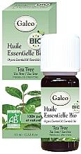 Parfumuri și produse cosmetice Ulei esențial organic de arbore de ceai - Galeo Organic Essential Oil Tea Tree