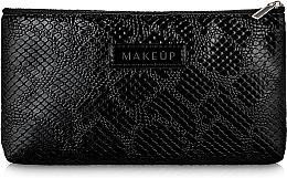 """Parfumuri și produse cosmetice Trusă cosmetică, neagră, plată """"Black Snake"""" - Makeup"""