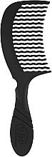 Parfumuri și produse cosmetice Pieptene de păr, negru - Wet Brush Pro Detangling Comb Black