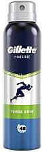 Parfumuri și produse cosmetice Deodorant antiperspirant spray - Gillette Power Rush Invisible Antiperpirant Spray