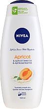 """Parfumuri și produse cosmetice Gel de duș """"Caise"""" - Nivea Bath Care Shower Care&Apricot Seed Oil"""