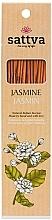 "Parfumuri și produse cosmetice Bețișoare parfumate ""Iasomie"" - Sattva Jasmine"
