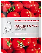 Parfumuri și produse cosmetice Mască de bioceluloză pentru față - Leaders Coconut Bio Tomato Mask