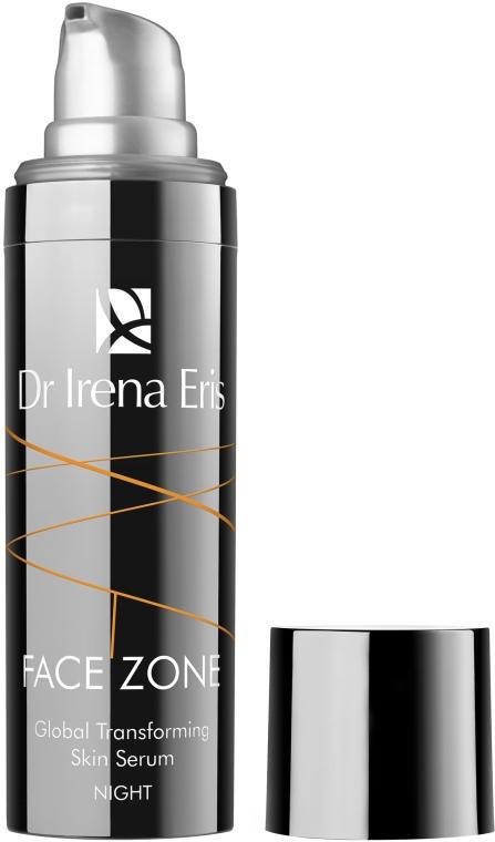 Ser de noapte regenerator pentru față - Dr Irena Eris Face Zone Global Transforming Skin Serum For Night — Imagine N2