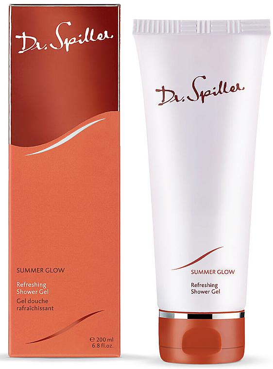 Освежающий гель для душа - Dr. Spiller Summer Glow Refreshing Shower Gel — фото N1