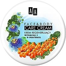 """Parfumuri și produse cosmetice Cremă pentru față și corp """"Vitamina E și D-pantenol"""" - AA Face And Body Care Cream"""