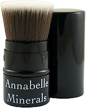 Parfumuri și produse cosmetice Pensulă pentru bronzer, pudră, fard de obraz - Annabelle Minerals Flat Top