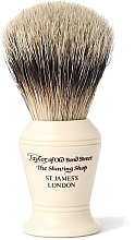Parfumuri și produse cosmetice Pămătuf de ras, S375 - Taylor of Old Bond Street Shaving Brush Super Badger size M