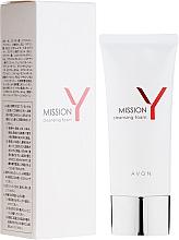 Parfumuri și produse cosmetice Spumă de curățare pentru față - Avon Mission Y Cleansing Foam
