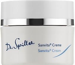 Parfumuri și produse cosmetice Cremă de față cu efect calmant - Dr. Spiller Sanvita Cream